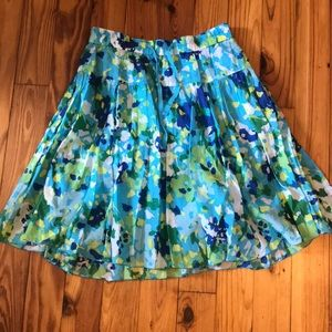 3/$20 Adorable blue/green/yellow old navy skirt